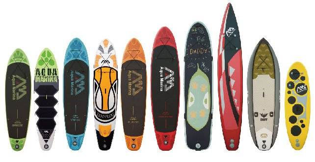 tablas de paddle surf hinchable aquamarina