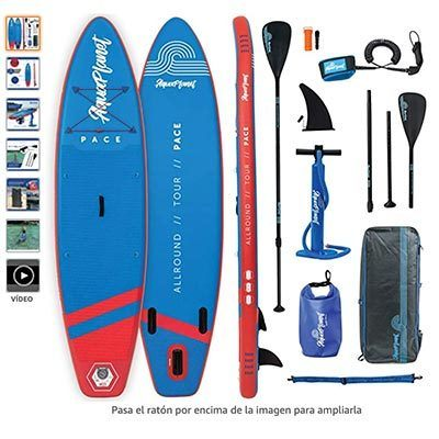 tablas de paddle surf hinchables baratas 2020 aquaplanet pace
