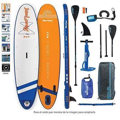 mejor tabla de paddle surf hinchable aquaplanet Max