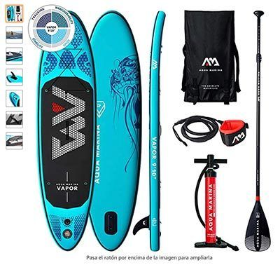comparativa paddle surf aqua marina hinchables