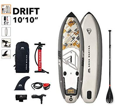 aquamarina drift paddle surf para pescar