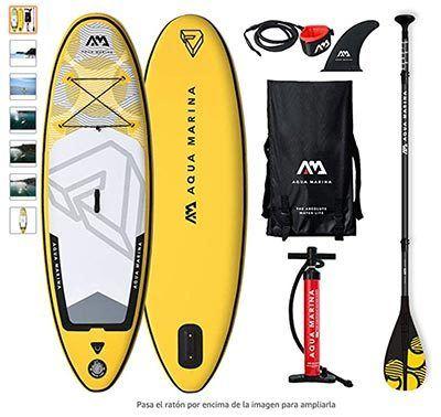 paddle surf aquamarina para niños