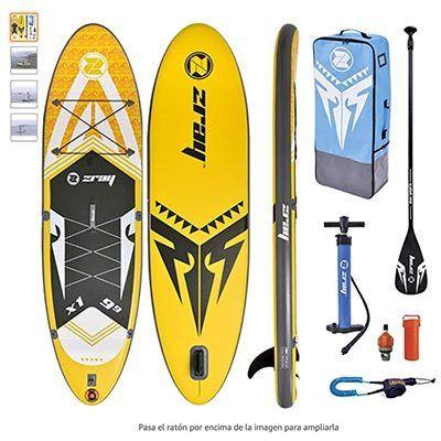 tabla de paddle surf hinchable barata zray x1